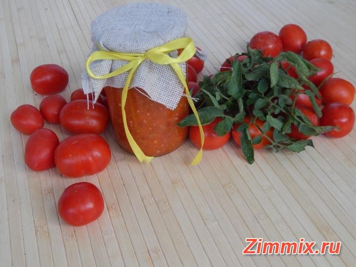 Рецепт приготовления аджики с яблоками и перцем на зиму