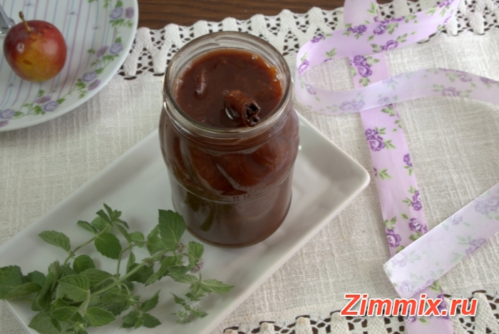 Сливово-шоколадный джем на зиму фото рецепт - шаг 7