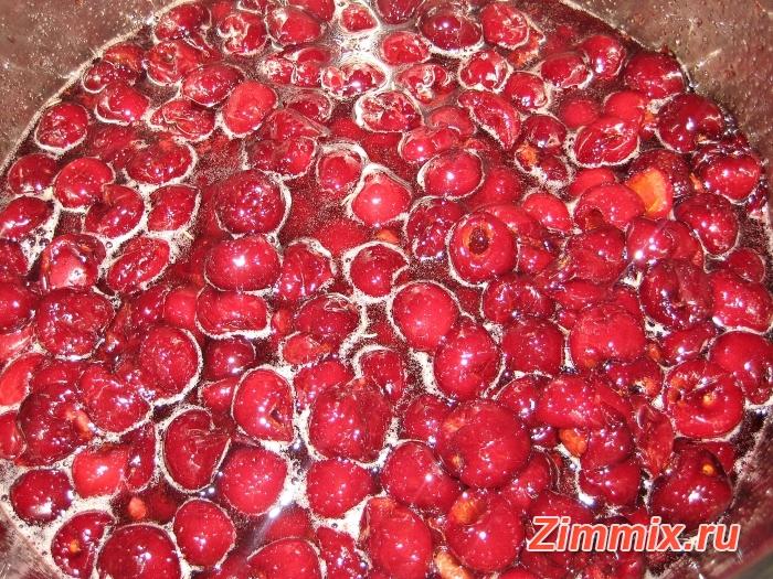 Варенье из черешни на зиму рецепт с фото - шаг 5