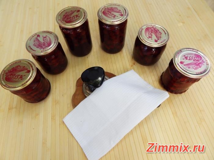 Варенье из кизила пятиминутка на зиму рецепт с фото - шаг 11