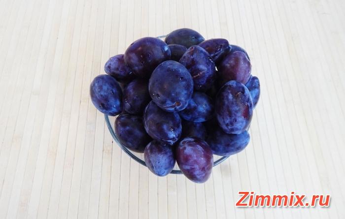 Варенье из сливы угорки с грецкими орехами на зиму - шаг 1