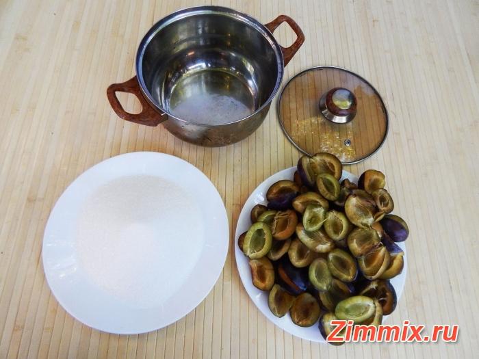 Варенье из сливы угорки с грецкими орехами на зиму - шаг 3
