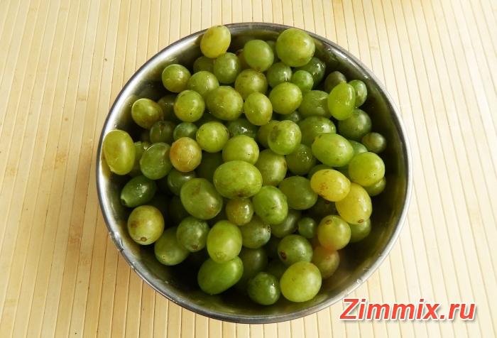 Варенье из винограда на зиму рецепт с фото - шаг 1