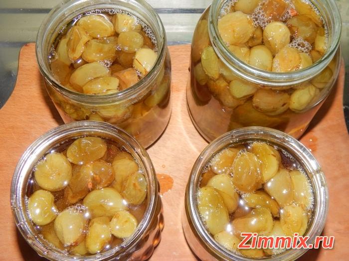 Варенье из винограда на зиму рецепт с фото - шаг 12