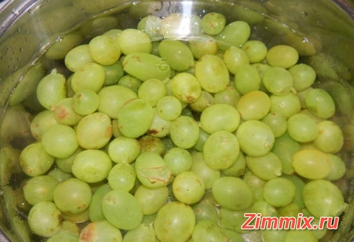 Варенье из винограда на зиму рецепт с фото - шаг 4