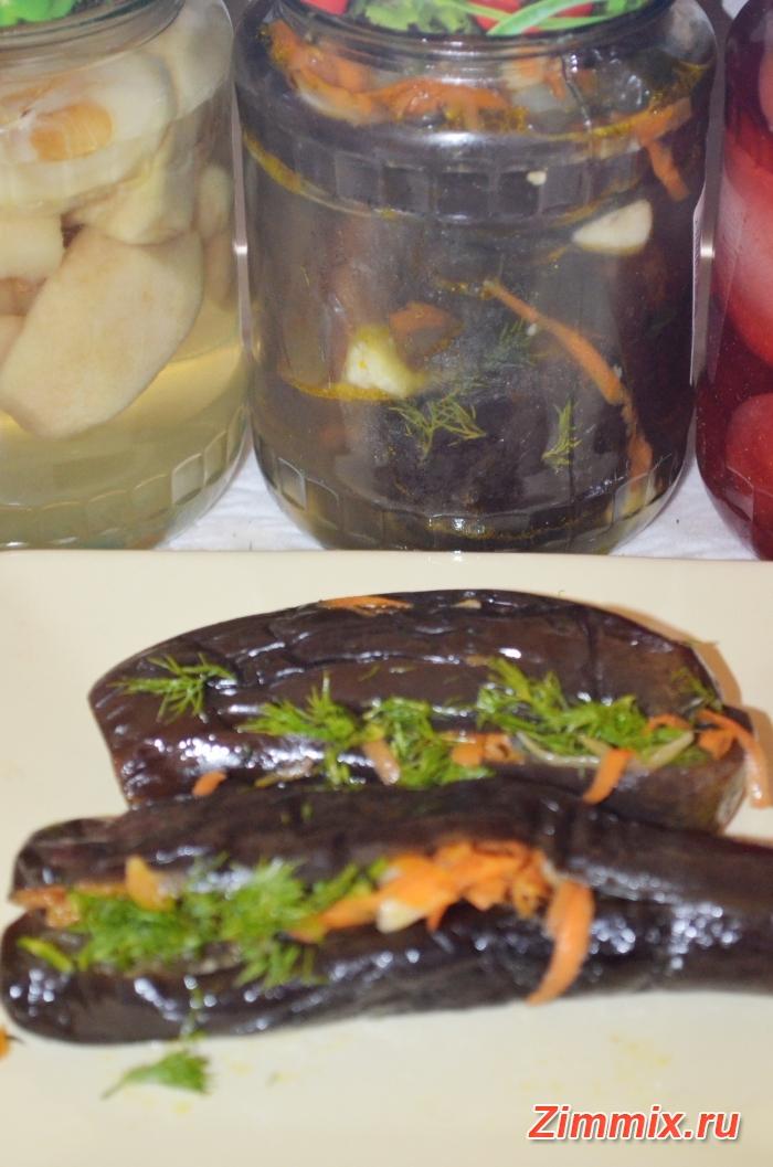 Баклажаны фаршированные овощами на зиму рецепт - шаг 12