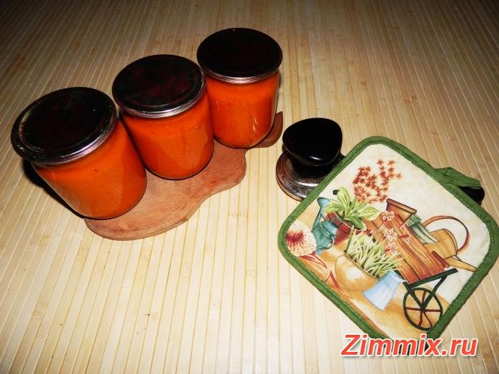 Икра из помидор и моркови на зиму пошаговый рецепт - шаг 10
