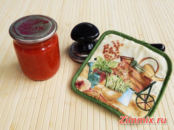Икра из помидоров на зиму пошаговый рецепт c фото - шаг 10