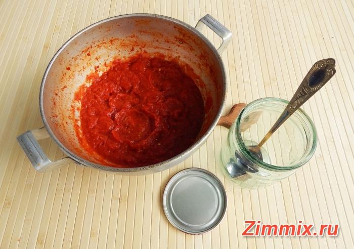 Икра из помидоров на зиму пошаговый рецепт c фото - шаг 9