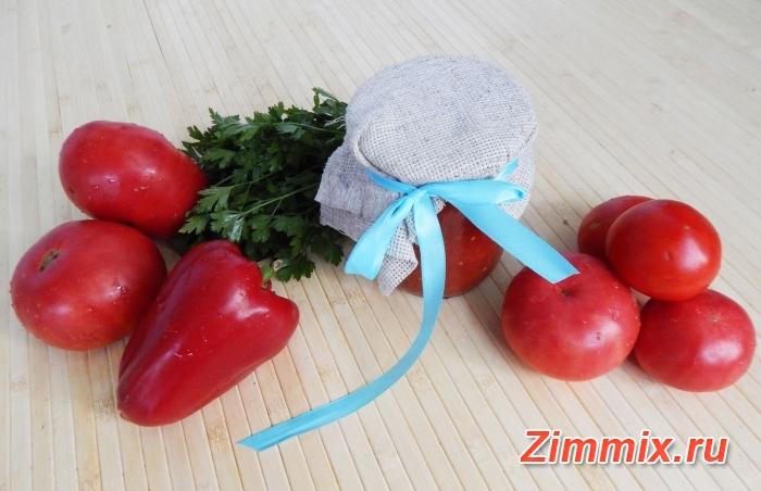 Рецепт икры из помидоров и перца на зиму с фото