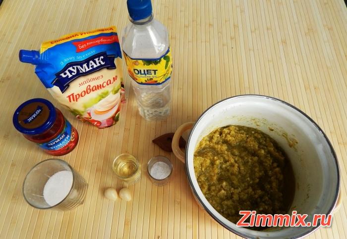Кабачковая икра на зиму рецепт с фото - шаг 4