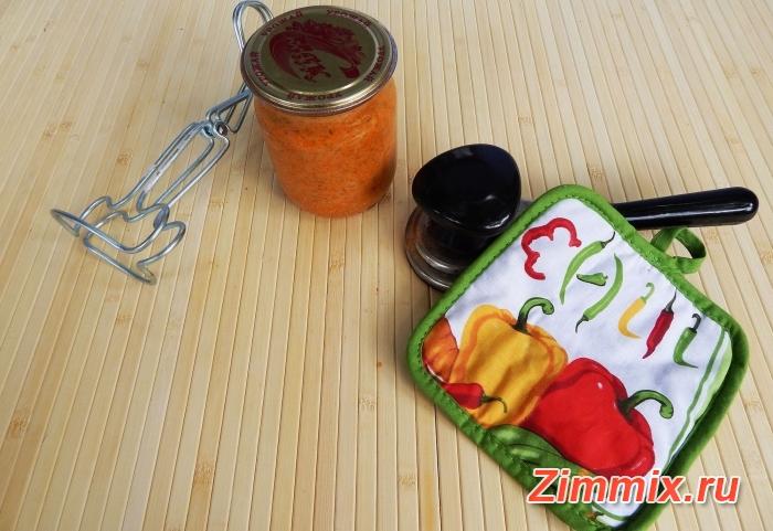 Кабачковая икра на зиму рецепт с фото - шаг 8