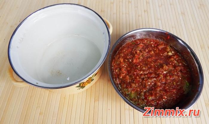 Кабачковая икра с болгарским перцем на зиму - шаг 4