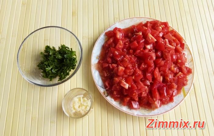 Кабачковая икра с зеленью и помидорами на зиму - шаг 8