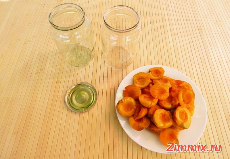 Абрикосы в сиропе на зиму рецепт   - шаг 2