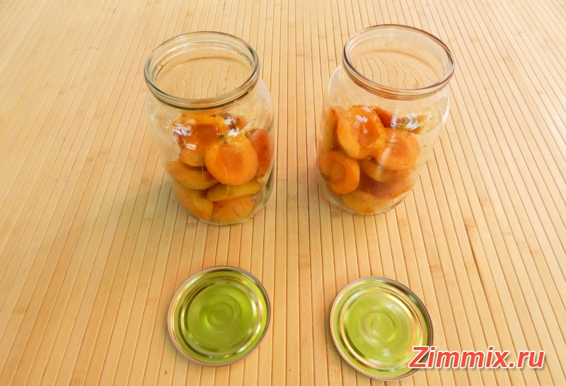 Абрикосы в сиропе на зиму рецепт   - шаг 3