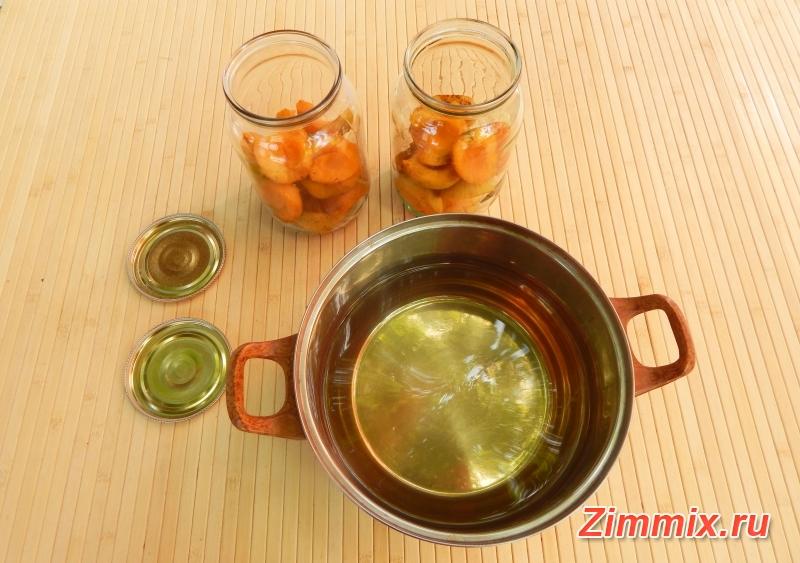 Абрикосы в сиропе на зиму рецепт   - шаг 6