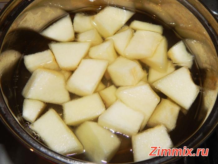 Компот из дыни на зиму пошаговый рецепт с фото - шаг 3