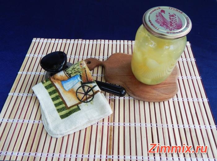 Компот из дыни на зиму пошаговый рецепт с фото - шаг 6