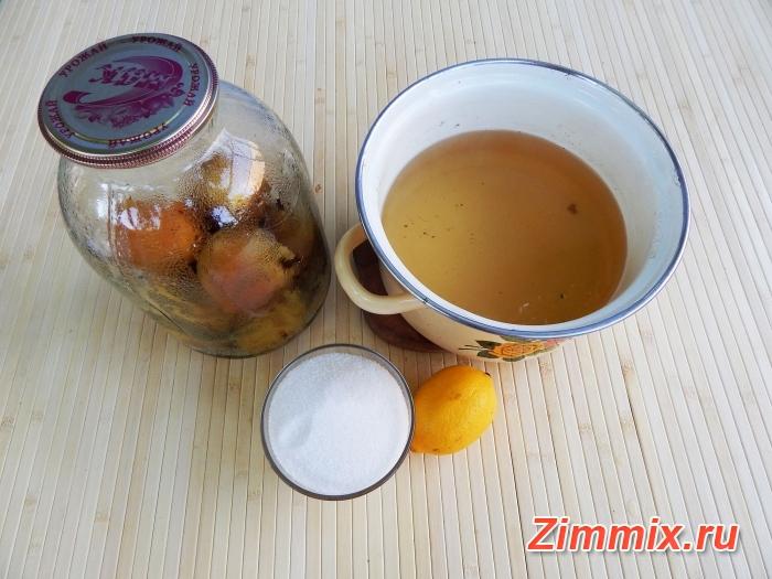 Компот из груш на зиму простой рецепт с фото - шаг 5