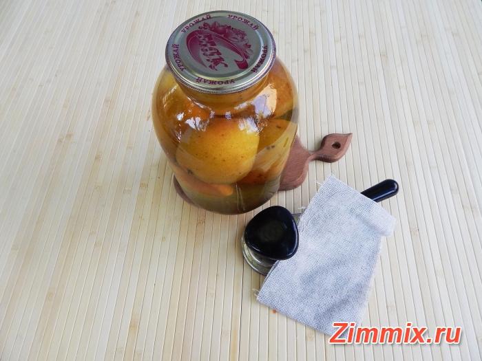 Компот из груш на зиму простой рецепт с фото - шаг 7