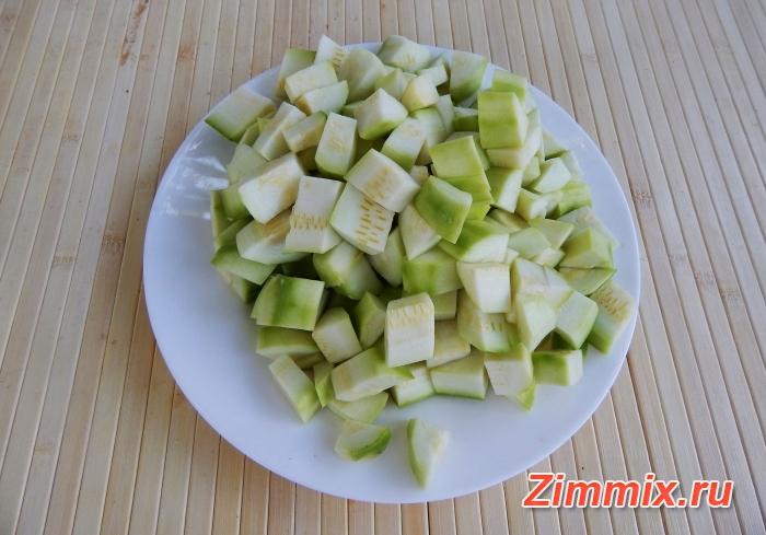 Компот из кабачков со вкусом ананаса на зиму - шаг 1