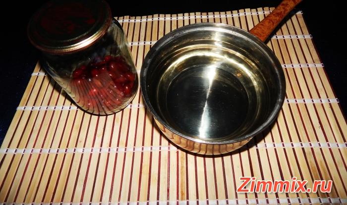 Компот из кизила на зиму пошаговый рецепт  - шаг 2