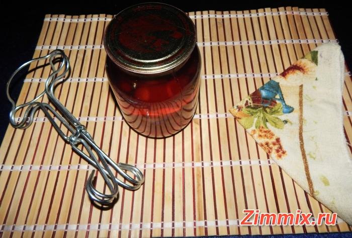 Компот из кизила на зиму пошаговый рецепт  - шаг 5