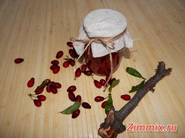 Компот из кизила на зиму пошаговый рецепт с фото