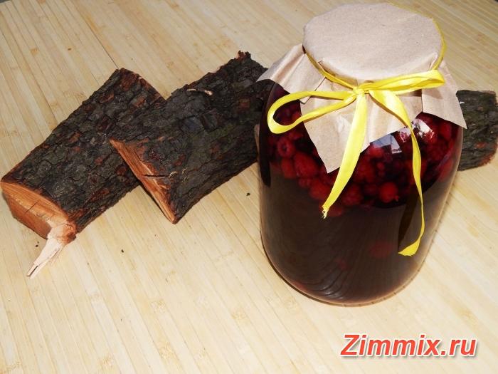 Компот из малины, ежевики и чёрной смородины на зиму