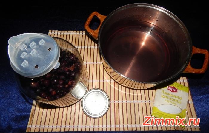 Компот из винограда на зиму рецепт с фото - шаг 6
