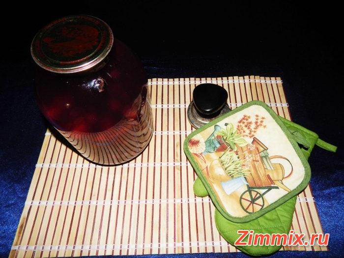 Компот из винограда на зиму рецепт с фото - шаг 8