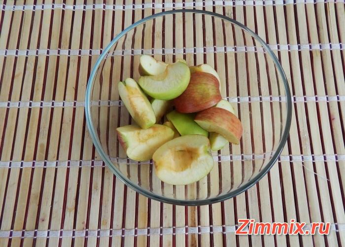 Компот из яблок и калины на зиму рецепт с фото - шаг 1