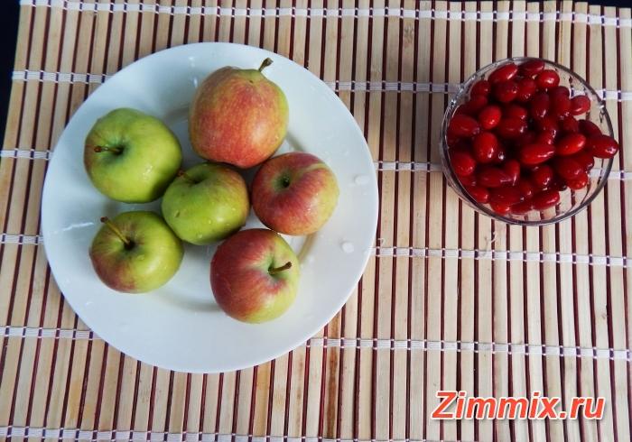 Компот из яблок с пошагово