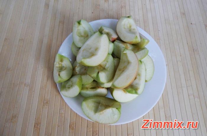 Компот из яблок и мяты на зиму рецепт с фото - шаг 1