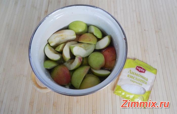 Компот из яблок и мяты на зиму рецепт с фото - шаг 2