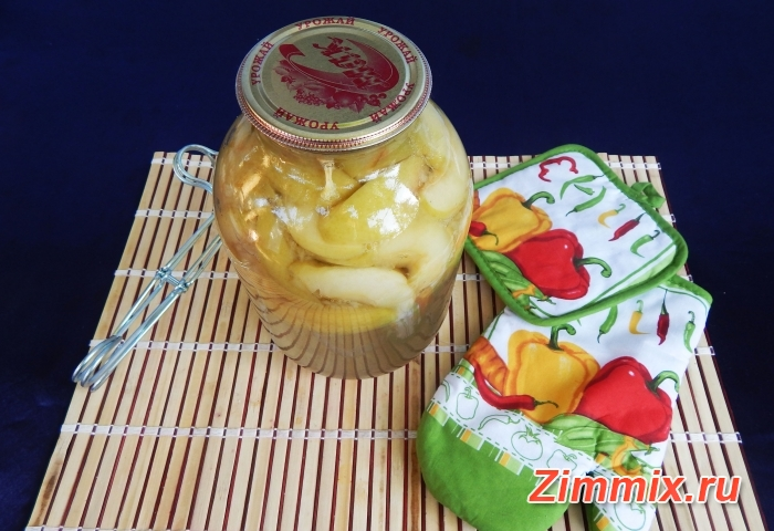 Компот из яблок с ванилью и гвоздикой на зиму - шаг 8