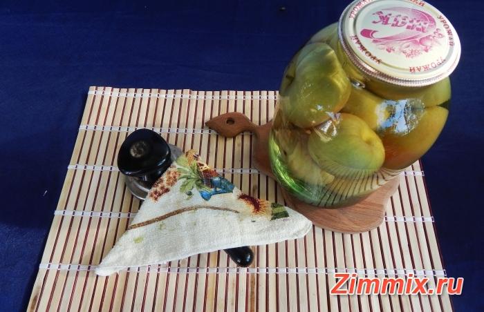 Яблочный компот на зиму пошаговый рецепт - шаг 4