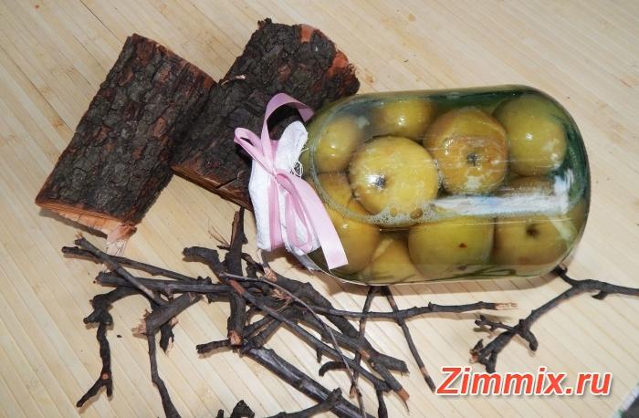 Яблочный компот на зиму пошаговый рецепт