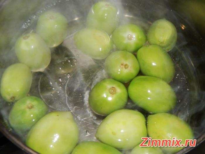 Зелёные помидоры на зиму без стерилизации - шаг 5