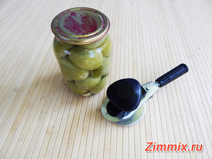 Зелёные помидоры на зиму без стерилизации - шаг 8