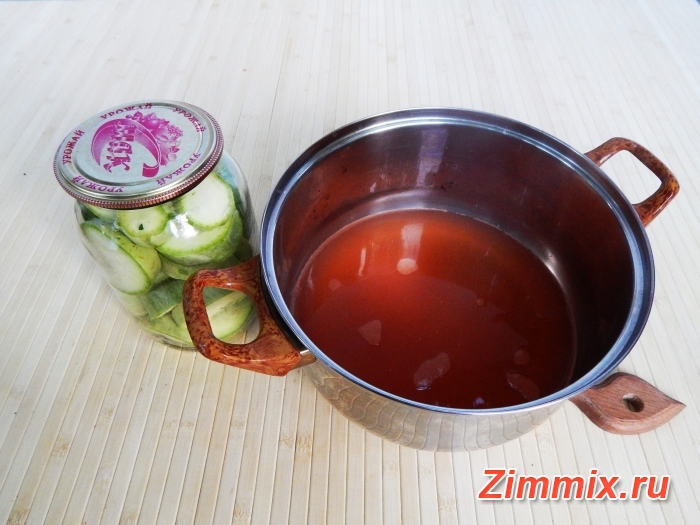 Кабачки с кетчупом чили на зиму рецепт с фото  - шаг 4