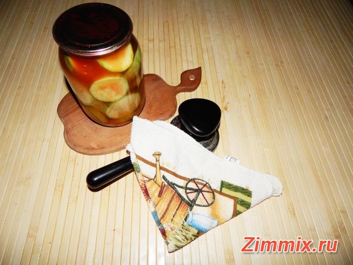 Кабачки с кетчупом чили на зиму рецепт с фото  - шаг 5