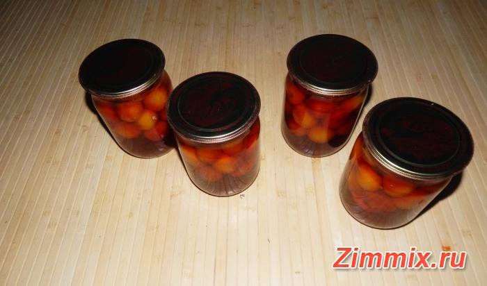 Маринованная алыча на зиму рецепт с фото - шаг 9