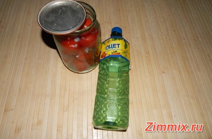 Помидоры с чесноком «Ёжики» на зиму рецепт с фото - шаг 7