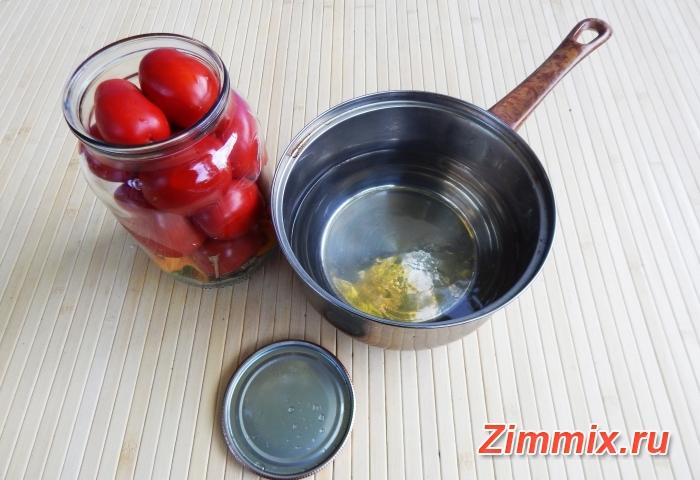 Помидоры в собственном соку на зиму рецепт с фото - шаг 8