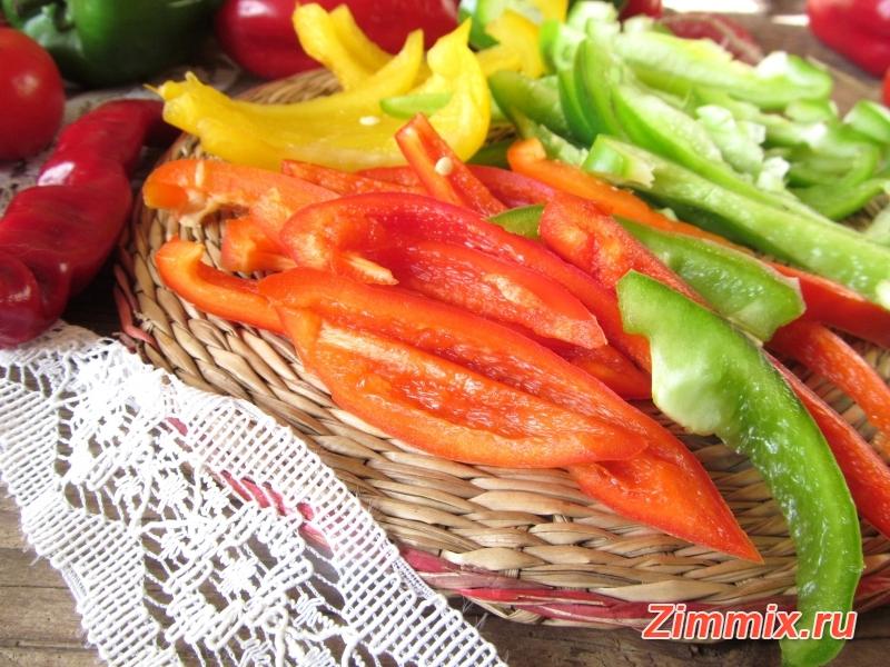 Сладкий перец в остром маринаде на зиму - шаг 2
