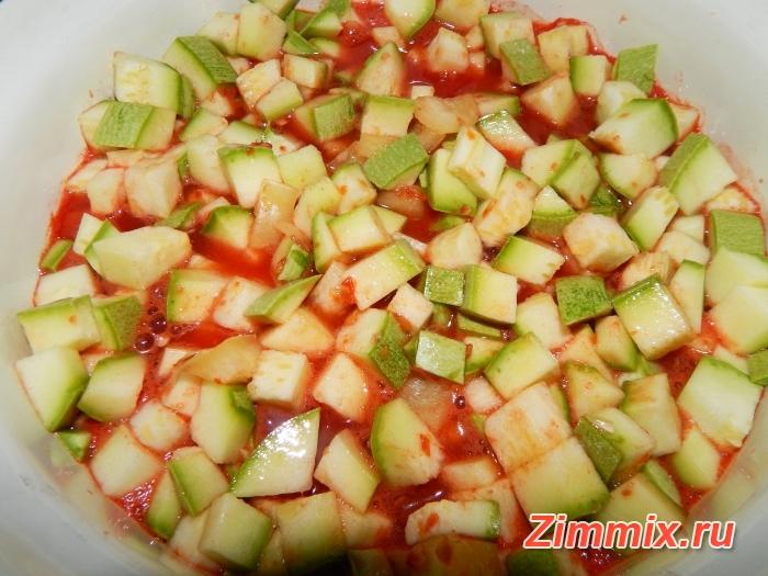Закуска из кабачков на зиму пошаговый рецепт с фото - шаг 10