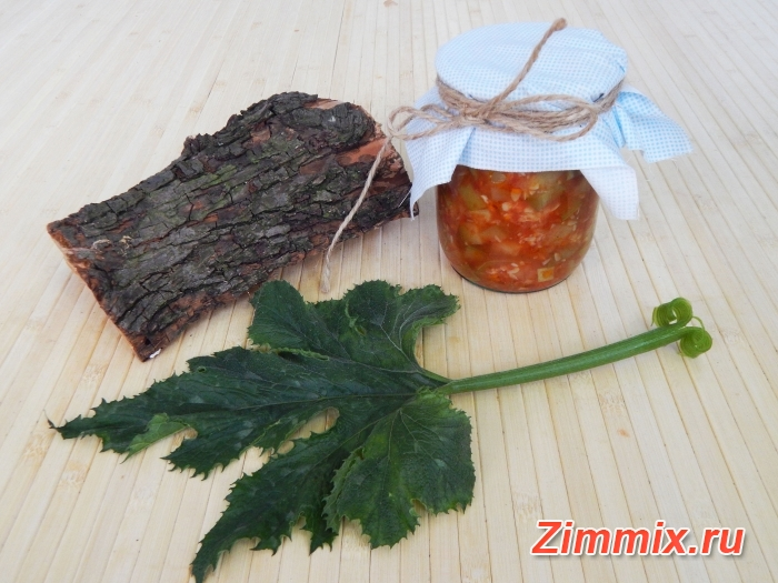 Закуска из кабачков на зиму пошаговый рецепт с фото