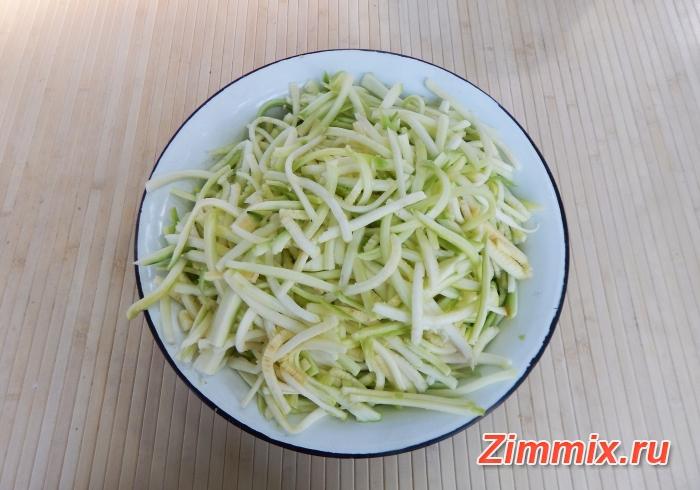 Кабачки по-корейски на зиму рецепт с фото - шаг 5